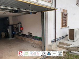 Read more about the article Pompa di Calore trifase Alta Temperatura + integrazione termo-camino