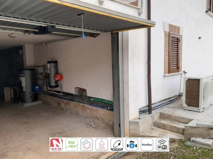 You are currently viewing Pompa di Calore trifase Alta Temperatura + integrazione termo-camino